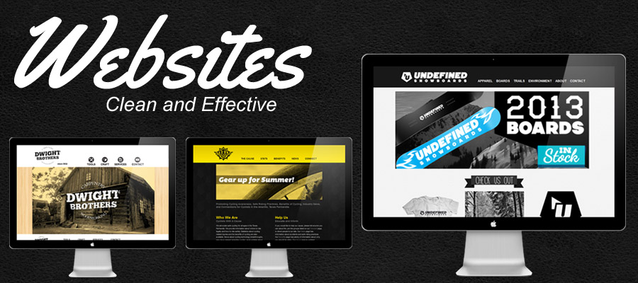 Check out our Website Portfolio