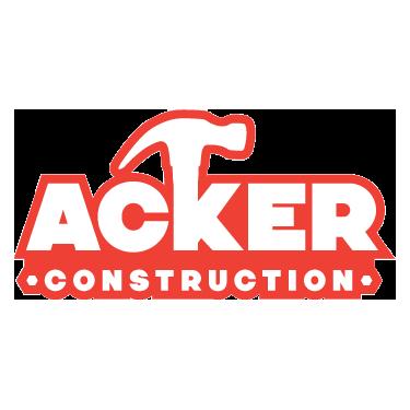 acker construction logo design by octane studios in amarillo texas