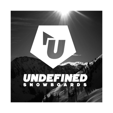 Undefined Snowboards Logo Design by Octane Studios in Amarillo, Texas