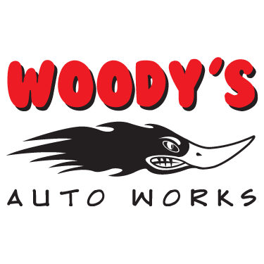 Woody's Auto Works Logo Design by Octane Studios in Amarillo, Texas