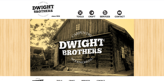 Dwight Bros Carpentry | Unique Website Design by Octane Studios